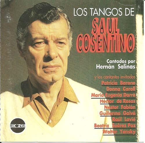 1994 CD Los Tangos de Saúl Cosentino, frente