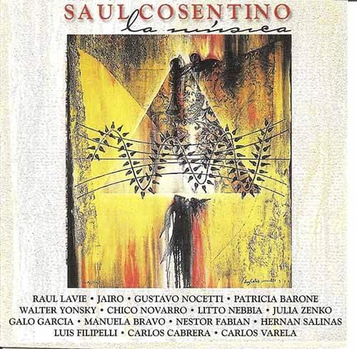 1999 CD Saúl Cosentino La música, frente