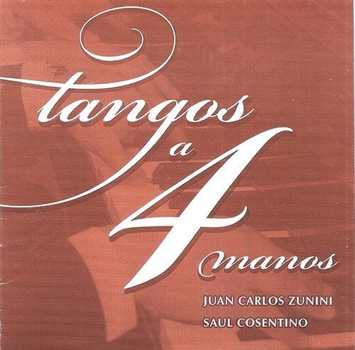 2004 CD Tangos a 4 manos, frente