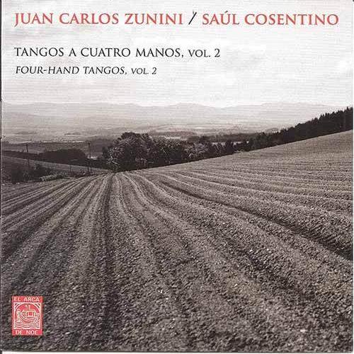 2011 CD Tangos a 4 manos Volumen 2, frente