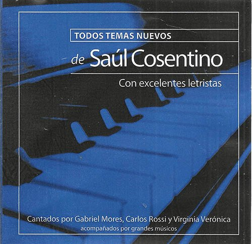2013 CD Todos temas nuevos, frente